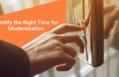 Identifying right time to modernize elevators